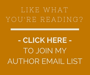 JOIN MY AUTHOR EMAIL LIST-